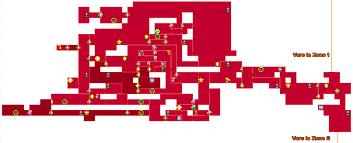 Metroid 2 Map Metroid 3ds Samus Returns Map De La Zone 2 Et Ses Objets