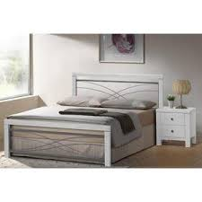 Wood And Metal Bed Frame Monty Metal White Wood Bed Frame Metal Beds