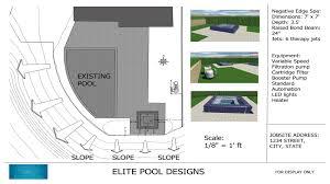 building swimming pools u2013 elite pool designs