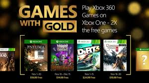 dungeon siege 3 free xbox one with gold november lineup includes dirt 3 dungeon