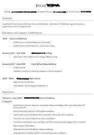 Fresher Resume Model Sample Resume For Ccna Certified Vibrant Inspiration Resume Resume