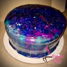 galaxy mirror glaze cake sugarlipscafe sugarlips galaxy