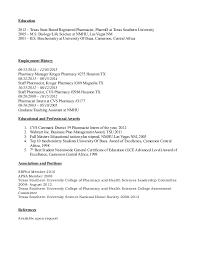 Cvs Pharmacy Resume Dz Resume