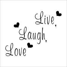 live laugh love live laugh love quote wall stickers home decor art decal sticker