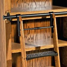 Built In Bookcase Kits Bookcase Bookshelf Rolling Ladder Kit Built In Bookcases With
