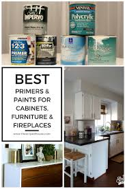 Behr Paint For Cabinets Best Primers U0026 Paints For Cabinets Furniture U0026 Fireplaces The