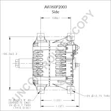 avi160p2003 alternator product details prestolite leece neville