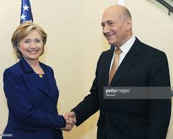 hillary clinton meets israeli and palestinian leaders photos and