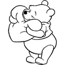 10 free printable pooh bear coloring pages
