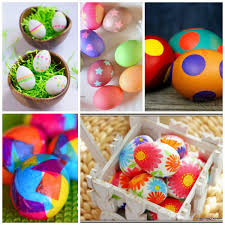 kids easter eggs 25 ways for kids to decorate easter eggs non gifts