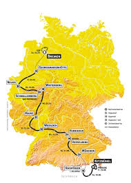 2009 tour of germany deutschland tour 2008 route stages