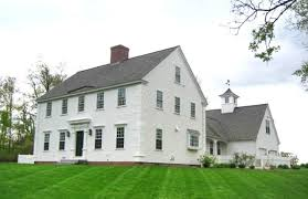 Clasic Colonial Homes by Plan 530 4 By Classic Colonial Homes Traditional Exterior