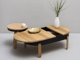 Oak Table L Batea L Oak Coffee Table By Woodendot