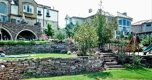 Retaining Wall Stairs Design Stack Retaining Walls Colorado Quarry Denver