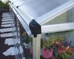 Palram Hybrid Greenhouse Amazon Com Palram Hybrid Lean Greenhouse 4 U0027 X 8 U0027 Silver
