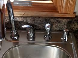 ivory kitchen faucet sink faucet amazing moen one handle kitchen faucet moen