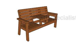 Leopold Bench Plans Outdoor Bench Howtospecialist How To Build Step By Step Diy
