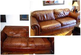 Leather Conditioner For Sofa Before After Photos Of Recent Repairs And Refurbishing