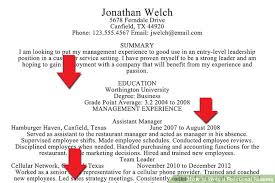 Strong Resume Summary How To Write A Resume Summary Resume Templates