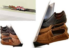 Diy Entryway Shoe Storage Paired Down Diy Elegantly Simple Space Saving Shoe Rack