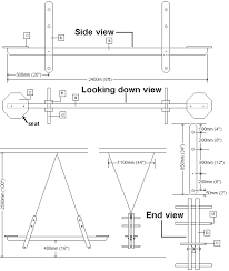 Picnic Table Plans Free Download by Seesaw Plans Plans Diy Free Download Picnic Table Cad Drawing