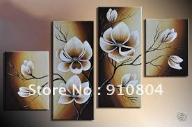 Wall Art Decor Canvas Flower Wall Art Canvas Painting Blossom - Wall paintings for home decoration