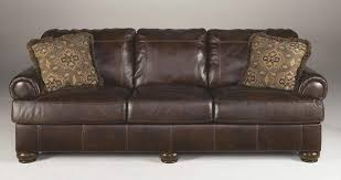 Klaussner Walker Sofa Signature Design By Ashley 4200038 Axiom Series Stationary Leather