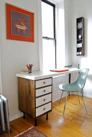 Midcentury Modern Desk - 20 diy desks that really work for your home office
