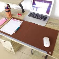 bureau mat aiboully 63 33 cm zachte wolvilt wolvilt laptop bureau mat tafel