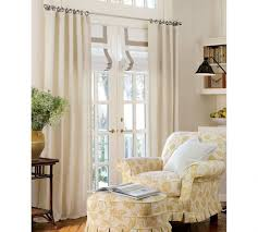 Venetian Blinds For Patio Doors by Interior Brown Roman Shadehanging On White Door Frame With Cream