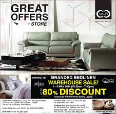1 4 may 2014 cellini singapore branded bedlinen warehouse sale