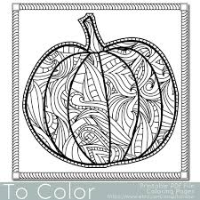 Halloween House Coloring Pages by Printable Pumpkins To Color Virtren Com