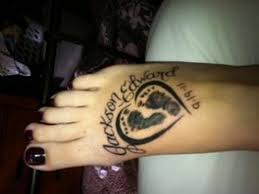 pin by green on tattoos baby footprint