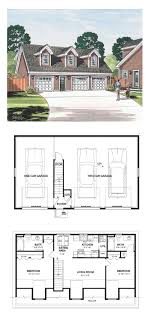how to build a garage apartment cape cod cottage country farmhouse saltbox garage plan 30032