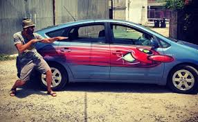 How To Spray Paint Your Car - car toons graffiti legend will spray paint your ride at cla u0027s