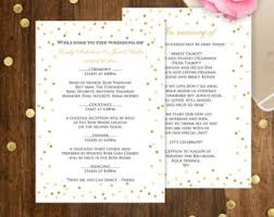 Diy Wedding Ceremony Program Printable Wedding Programs Diy White Ceremony Program Cards