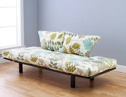 Daybed With Mattress Spacely Futon Daybed Lounger With Mattress English Garden By Kodiak