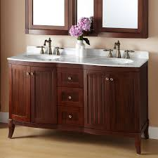60 palmetto brown cherry vanity bathroom