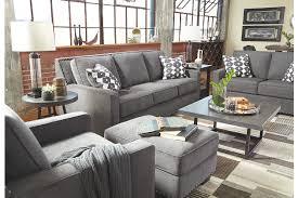 Gray Sofa In Living Room Brace Sofa Ashley Furniture Homestore