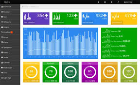 25 free bootstrap admin dashboard templates