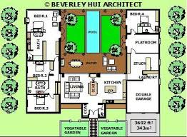 large single house plans 47 best u shaped houses images on architecture u