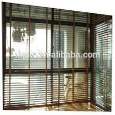 beautiful balcony sun shades transparent pvc faux wood window