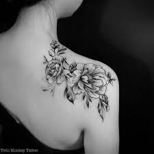 Tattoo Ideas On Shoulder 25 Best Flower Tattoo Shoulder Ideas On Pinterest Flower