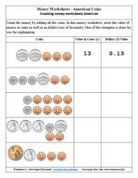 free money worksheets for 2nd grade worksheets