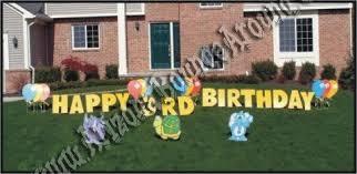 Birthday Lawn Decorations Happy Birthday Zoo Animal Yard Sign Greeting Cards In Phoenix Az