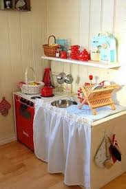 wonderful diy play kitchen from tv cabinets diy play kitchen tv