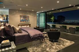 Home Theater Design Los Angeles by A Modern Masterpiece In Bel Air A Great Master Bedroom Project