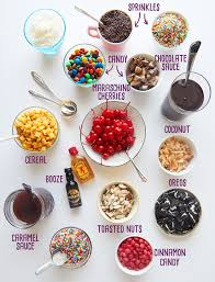 sundae bar toppings you should throw yourself a big fucking ice cream party food