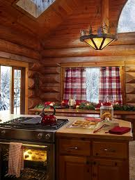 rustic cabin kitchen ideas santa u0027s house zillow kitchen ideas pinterest garlands