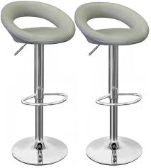 grey kitchen bar stools pair of sorrento grey bar stools simply bar stools